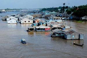 Chủ động ứng phó lũ trên sông Cửu Long
