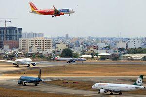 Đường lăn sân bay Tân Sơn Nhất mất điện