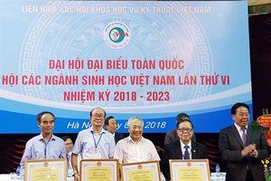 Hội liên hiệp các ngành sinh học Việt Nam tổ chức Đại hội đại biểu toàn quốc