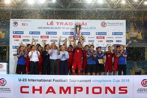 Điềm lành với Đội tuyển U23 Việt Nam