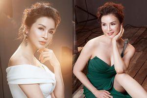 Xao xuyến vẻ kiêu sa quyến rũ của MC Thanh Mai ở tuổi U50