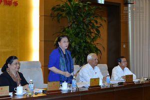 Chủ tịch Quốc hội: Các cơ quan cần chuẩn bị tài liệu sớm hơn