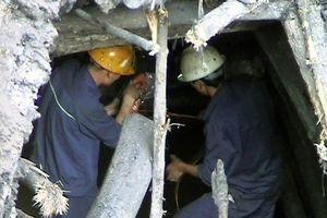 Sập hầm lò tại Quảng Ninh, 4 công nhân thương vong