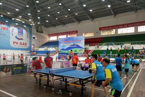 Nghệ An đạt Huy chương Vàng tại Giải bóng bàn, cầu lông toàn quốc