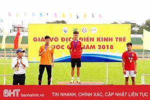 Hà Tĩnh giành 9 huy chương Giải vô địch Điền kinh trẻ quốc gia