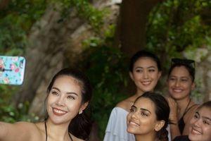 Các Hoa hậu thế giới đẹp hút hồn khi trải nghiệm du lịch tại Đà Nẵng