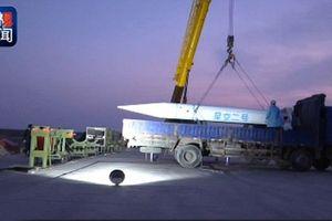 Clip: Trung Quốc thử nghiệm thành công tên lửa siêu thanh