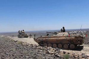 Quân tinh nhuệ Syria ồ ạt tấn công IS trên hoang mạc Sweida