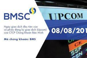 Chứng khoán Bảo Minh giao dịch trên UPCOM