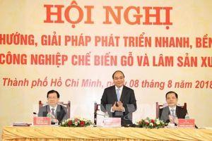 Thủ tướng nhấn mạnh việc xây dựng thương hiệu gỗ Việt Nam