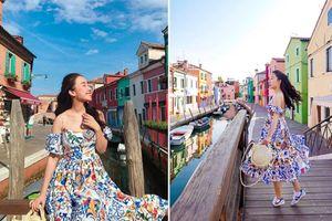 Theo chân cô gái Việt 'ngắm hoài không biết chán' ngôi làng bảy sắc cầu vồng nức danh nước Ý