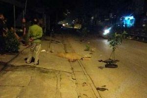 Xác định danh tính 2 thanh niên nằm bên vũng máu cạnh xe máy giữa đêm