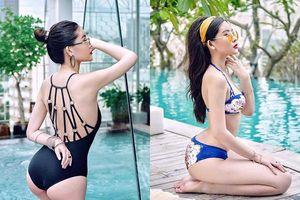 Lê Âu Ngân Anh diện bikini khoe vòng 3 nhức mắt, 'lột xác' đến mức khó nhận ra