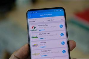 Cạnh tranh với Grab, Zalo bất ngờ tung ra dịch vụ đặt món ăn và gọi taxi online