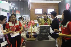 550 doanh nghiệp tham dự Triển lãm Quốc tế Thực phẩm và Đồ uống