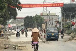Vướng nặng mặt bằng Dự án đầu tư xây dựng Quốc lộ 12B qua Ninh Bình