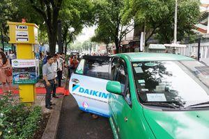 TP Hồ Chí Minh: Chính thức thí điểm 5 điểm đón taxi cố định