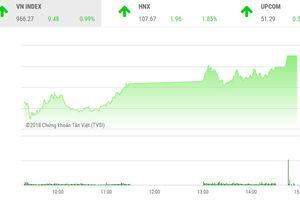 Cổ phiếu blue-chips khởi sắc, VN-Index lên trên 960 điểm