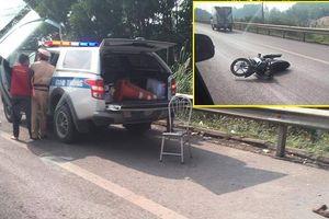 Kẻ chạy xe máy đâm chết Thiếu tá CSGT trên cao tốc nhận án chung thân