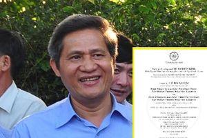 Bị đồn làm Phó Tổng Giám đốc Tập đoàn Trung Nguyên, nguyên Chủ tịch UBND tỉnh Đắk Lắk lên tiếng