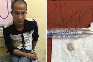 Đi mua heroin về sử dụng bị lực lượng 141 bắt giữ
