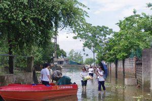 Tình người vùng ngập lụt - Bài 1: Ở rốn lũ Chương Mỹ