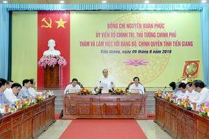 Thủ tướng đặt ra cho Tiền Giang là tự cân đối ngân sách vào năm 2020