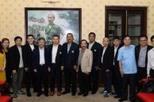 Liên đoàn báo chí Thái-lan thăm và làm việc tại Báo Nhân Dân