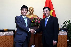 Quan hệ Việt Nam-Nhật Bản phát triển mạnh mẽ
