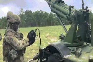 Xem lính Mỹ thử lựu pháo chính xác nhất trên 'quái vật thép'