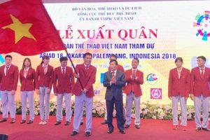 Đoàn thể thao Việt Nam xuất quân dự ASIAD