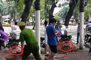 Công an tóm gọn nhóm trộm cây Sưa đại náo Hà Nội
