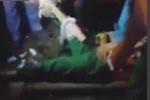 Truy tìm nam thanh niên tông gãy chân nữ công nhân quét rác rồi vứt xe bỏ trốn