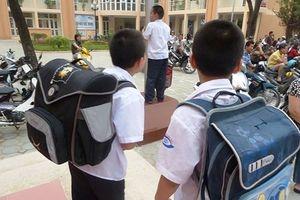 Học sinh tiểu học ở thành phố Hồ Chí Minh chỉ dùng 4 quyển vở ô ly đến lớp