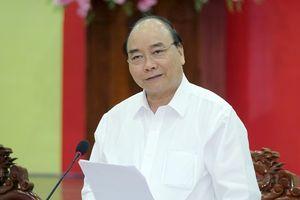 Thủ tướng làm việc với lãnh đạo tỉnh Tiền Giang
