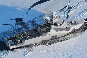 Nga âm thầm đóng tàu phá băng mang tên lửa hành trình