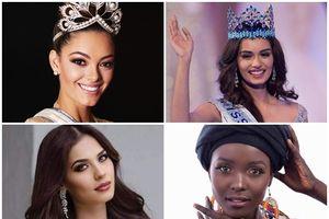 Công bố top 4 'Hoa hậu của các hoa hậu 2017': Khó chọn người chiến thắng vì ai cũng đẹp tuyệt trần