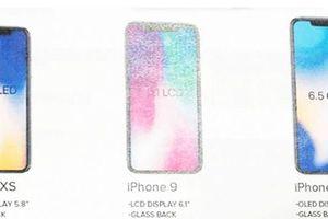Apple 'chốt' tên thiết bị mới: iPhone XS, iPhone XS Plus và iPhone 9?