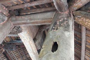Di tích quốc gia 400 năm tuổi ở Phú Thọ sắp thành phế tích