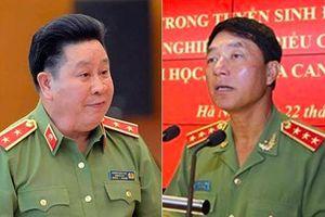 Hai tướng Công an chính thức bị giáng cấp