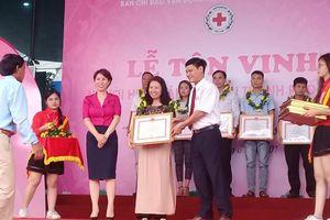 Người phụ nữ hơn 10 năm hiến máu cứu người