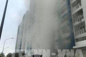 Vụ cháy chung cư Carina: Bắt tạm giam Trưởng ban quản lý