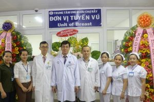 Bệnh viện Chợ Rẫy đưa vào hoạt động Đơn vị tuyến vú