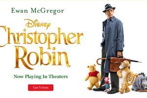 Hậu trường 'Christopher Robin': Những cảnh thú vị của Pooh