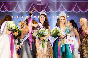 Đại diện Việt Nam Phan Thị Mơ đăng quang Hoa hậu Đại sứ Du lịch Thế giới 2018