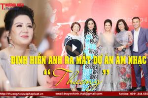 Đinh Hiền Anh nghẹn ngào xúc động trong buổi ra mắt dự án âm nhạc 'Thương' và MV Phút yêu xưa