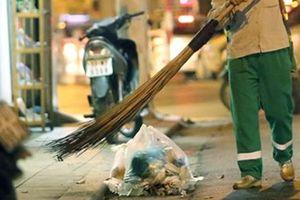Truy tìm thanh niên tông gãy chân nữ công nhân quét rác rồi bỏ trốn