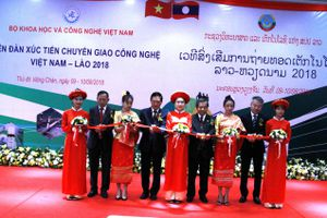 Khai mạc Diễn đàn Xúc tiến chuyển giao công nghệ Việt Nam – Lào 2018