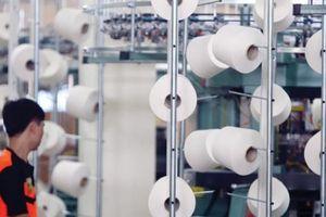 Ngành sản xuất nguyên phụ liệu dệt may đón 'khách quý'