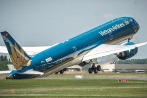 Bay quốc tế với Vietnam Airlines giá chỉ từ 210.000 đồng/chặng
